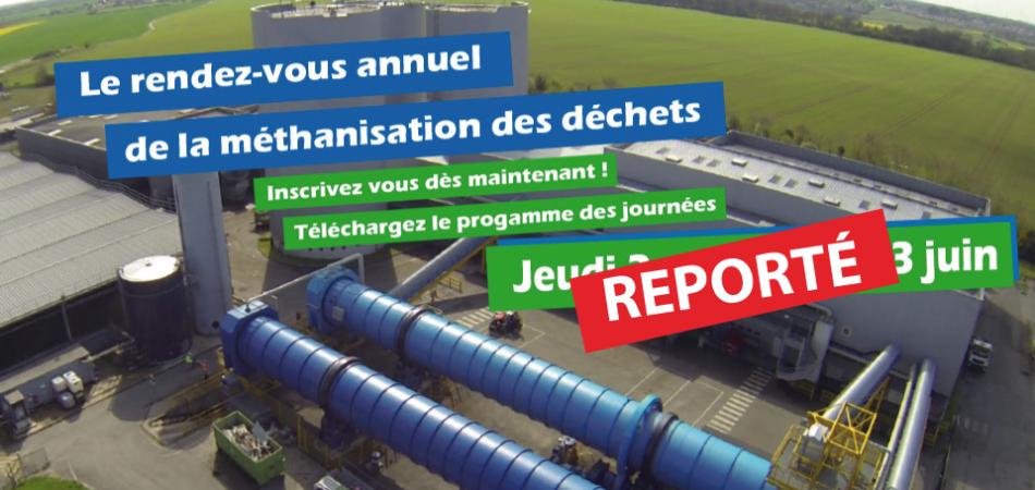Reportés au 18 Novembre 2016 11èmes états généraux de la méthanisation des déchets ménagers àVarennes-Jarcy   Cliquer pour télécharger le programme complet